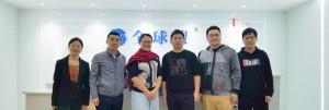 广交会领导莅临谷道科技技术总部,全面助力外贸企业线上出海升级!