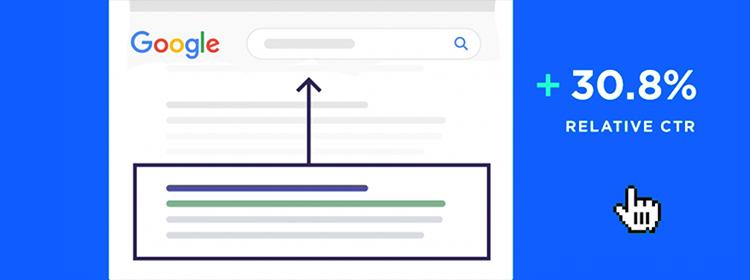 【资讯】谷歌排名位置与点击率的关系,上升1位,点击率提升30.8%!